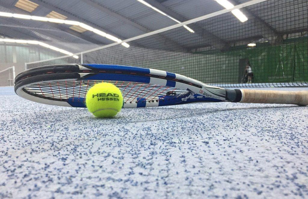 tennis, hall, tennis racket