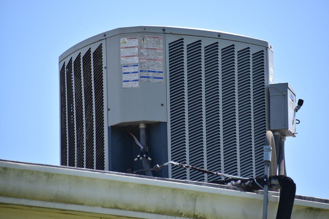 air conditioner, roof, unit